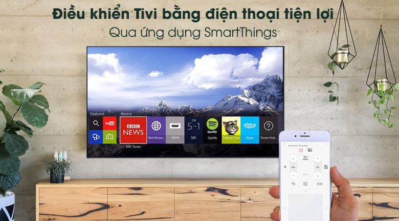 Smart Tivi Samsung 4K 55 Inch UA55AU8000